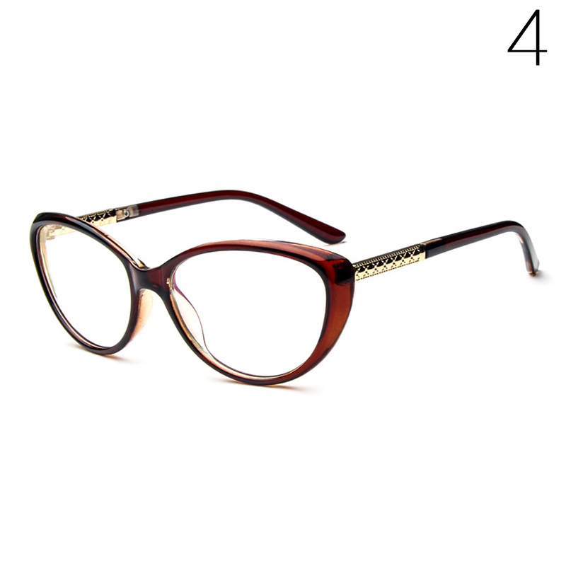 Women Sexy Eyeglasses Frame Fashion Cat Eye Clear Lens ladies Eye ...