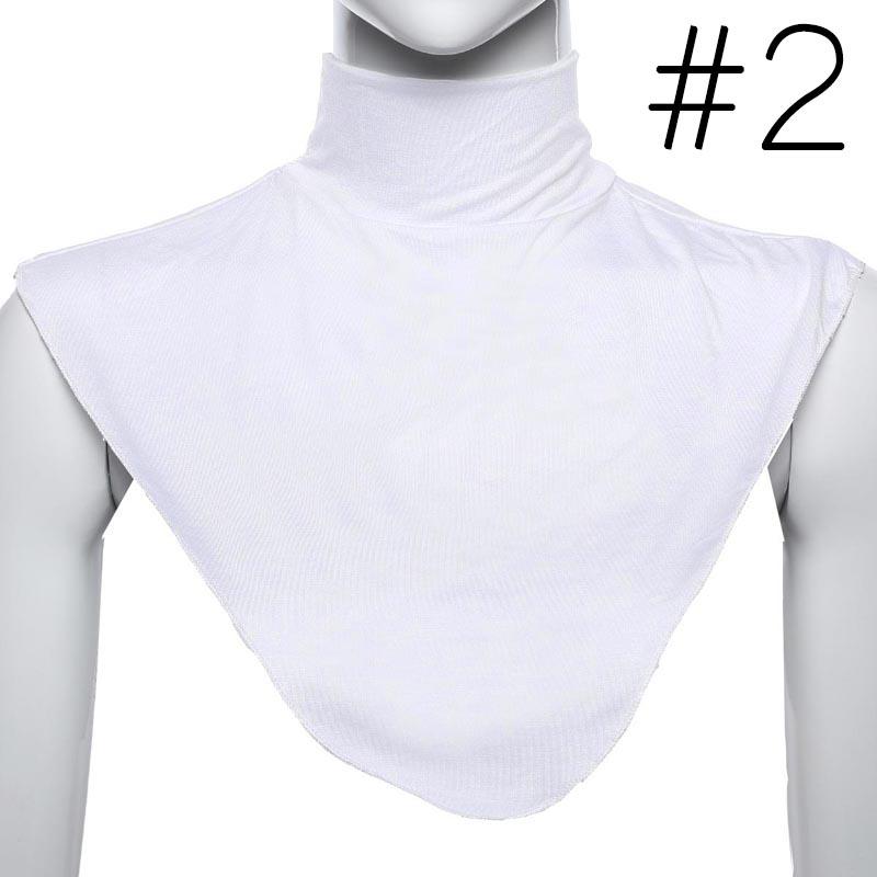 Frauen Abnehmbare Halbhemd Bluse Kragen Weiss C1I3 BS