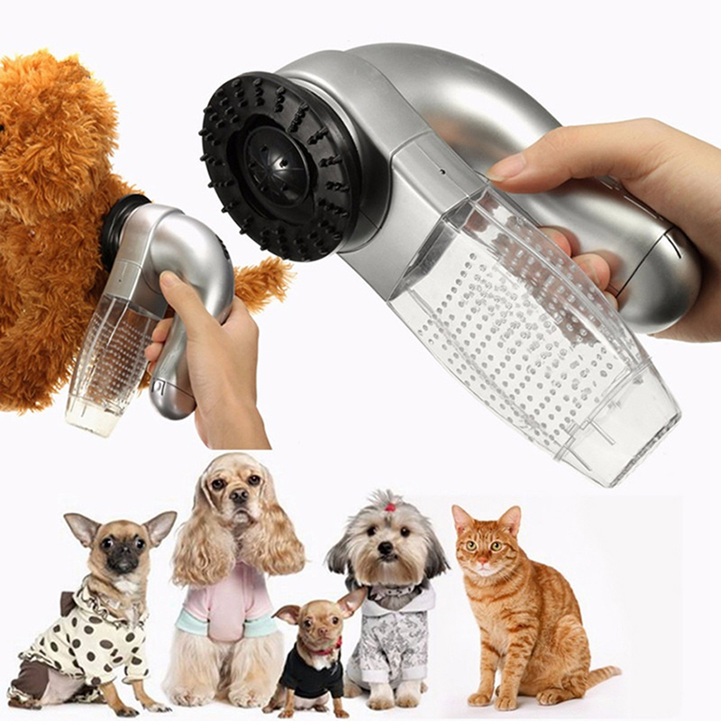 Cat Dog Pet Hair Fur Remover Shedding Grooming Brush Comb