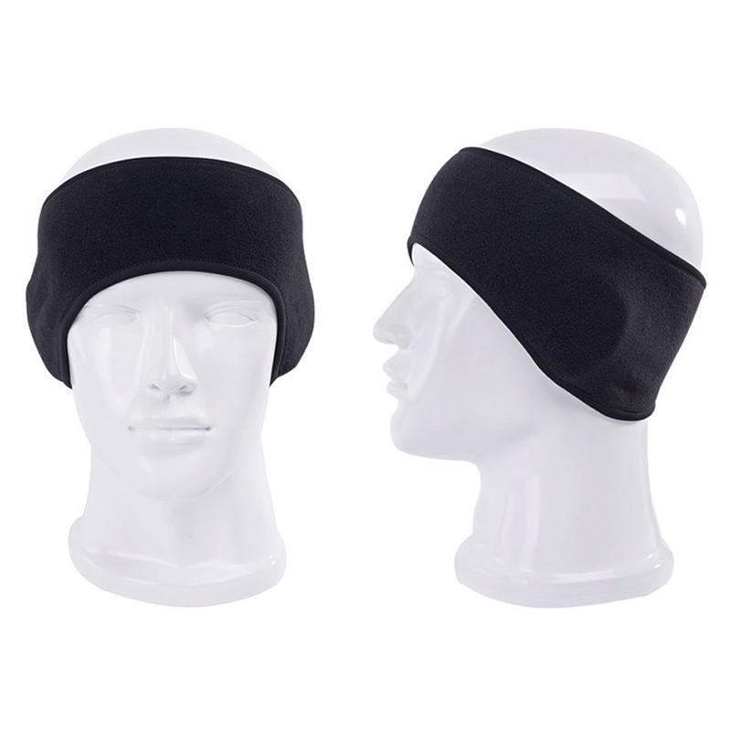 Unisex Fleece Haarband Stirnband Haarschmuck Sport Elastisch Freizeit Y7H7