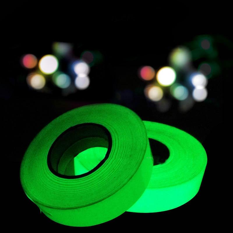 Leuchtband Reflektorband nachtleuchtend selbstklebend Nachtlicht band Vogue NEU