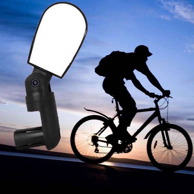 1 Paar Fahrradspiegel 360 Grad Fahrrad Spiegel Bike E-Bike Rückspiegel ABS