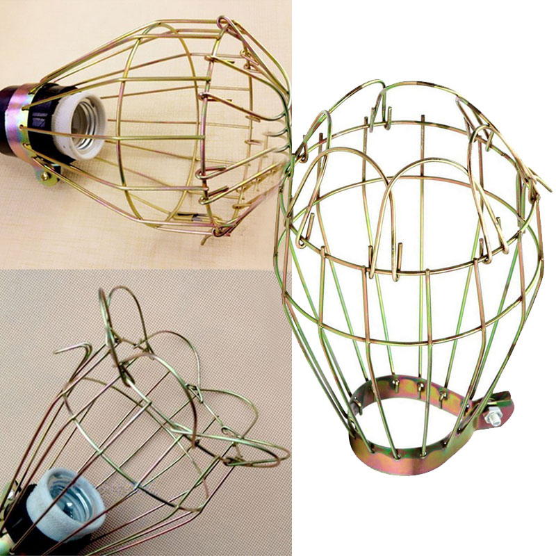 Home Ba Metal Bulb Cage Guard Lamp Light Cage Hanging