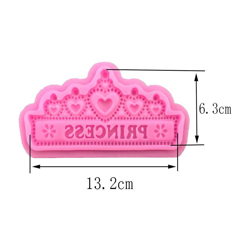 Cake Decorating Crown Cutter : Crown Princess Cutter Fondant Cake Mold Sugarcraft ...