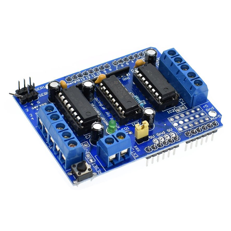 Motor Drive Shield Expansion Board L293d For Arduino