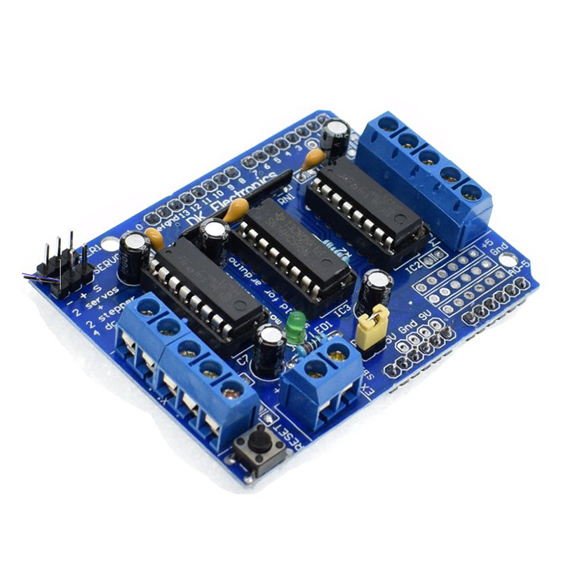 Motor drive shield expansion board l293d for arduino duemilanove mega2560 uno ebay Arduino mega 2560 motor shield