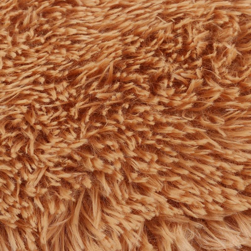 Soft Shaggy Fluffy Rugs Anti Skid Area Rug Room Bedroom