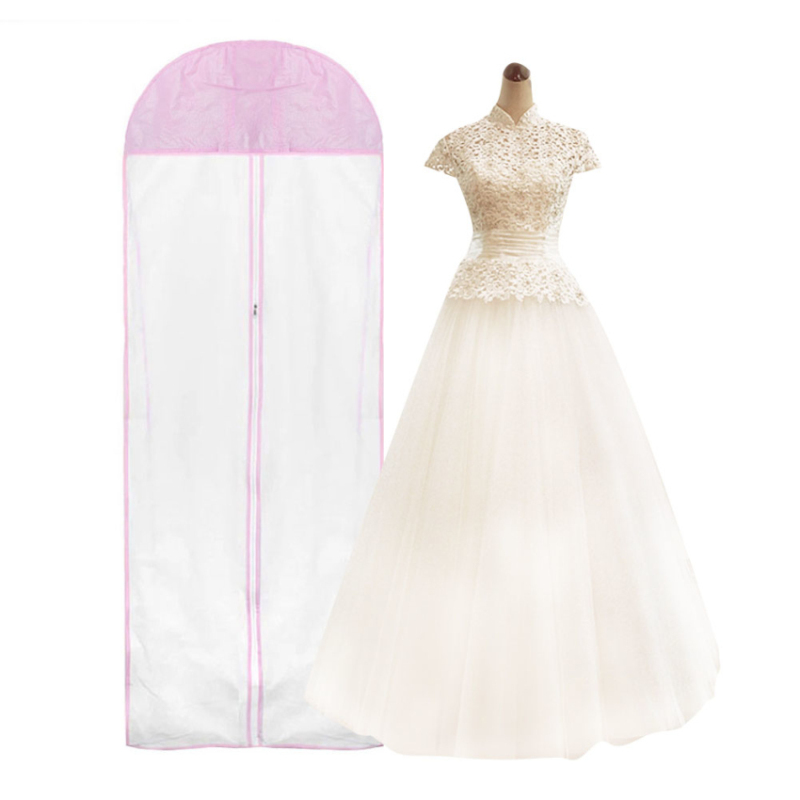 dress bridal gown garment dustproof breathable cover storage bag long