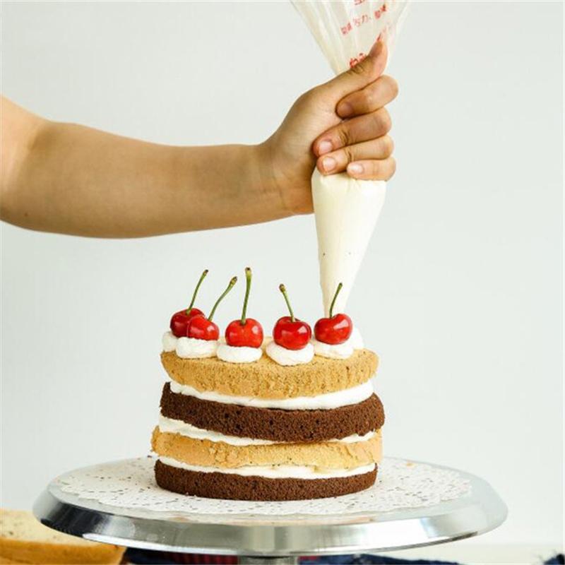 100pcs Fondant Cake Cupcake Pastry Decorating Icing Piping ...