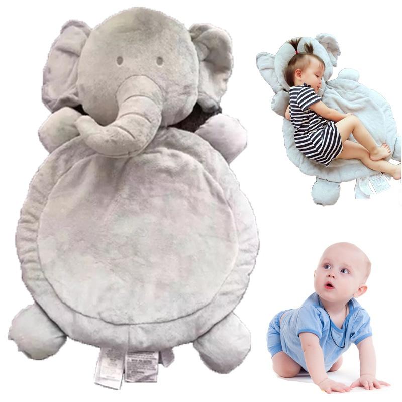 Baby Kids Cartoon Sleeping Mat Blanket Children Soft Plush