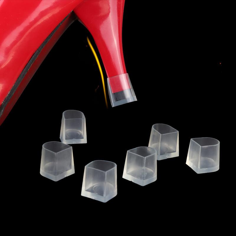 1 Paar Absatzschoner High Stöckelstulpen Stöckelschuhe Absatzschutz w// Gift Z5Q5