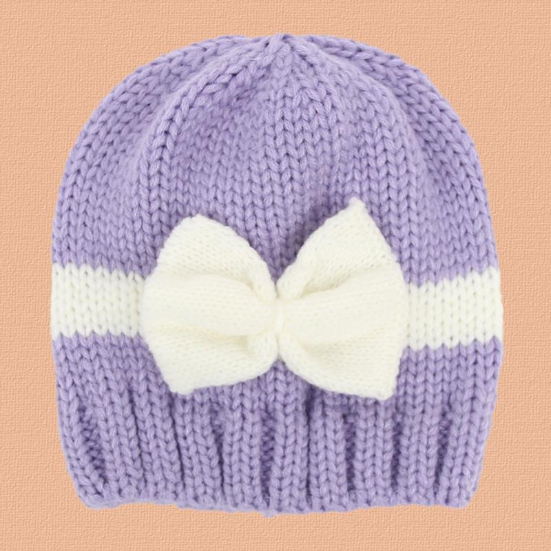 Knitted Beret Pattern Toddler : Baby Kids Girls Toddler Winter Warm Knitted Crochet Beanie Hat Beret Cap eBay