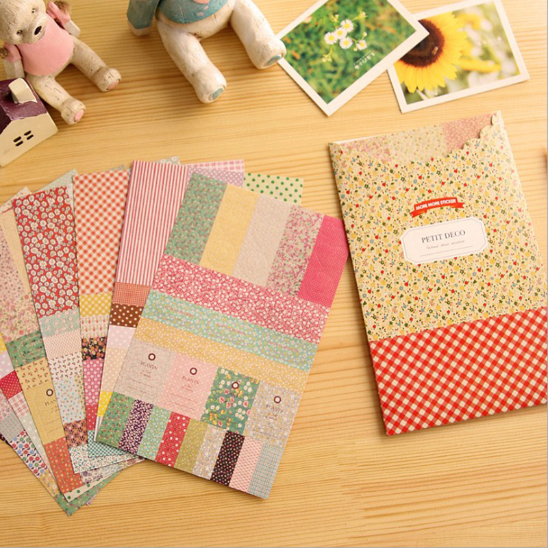 8xSheets Forest Story Diary Stickers Stationery.Scrapbook Notebook Planner Decor