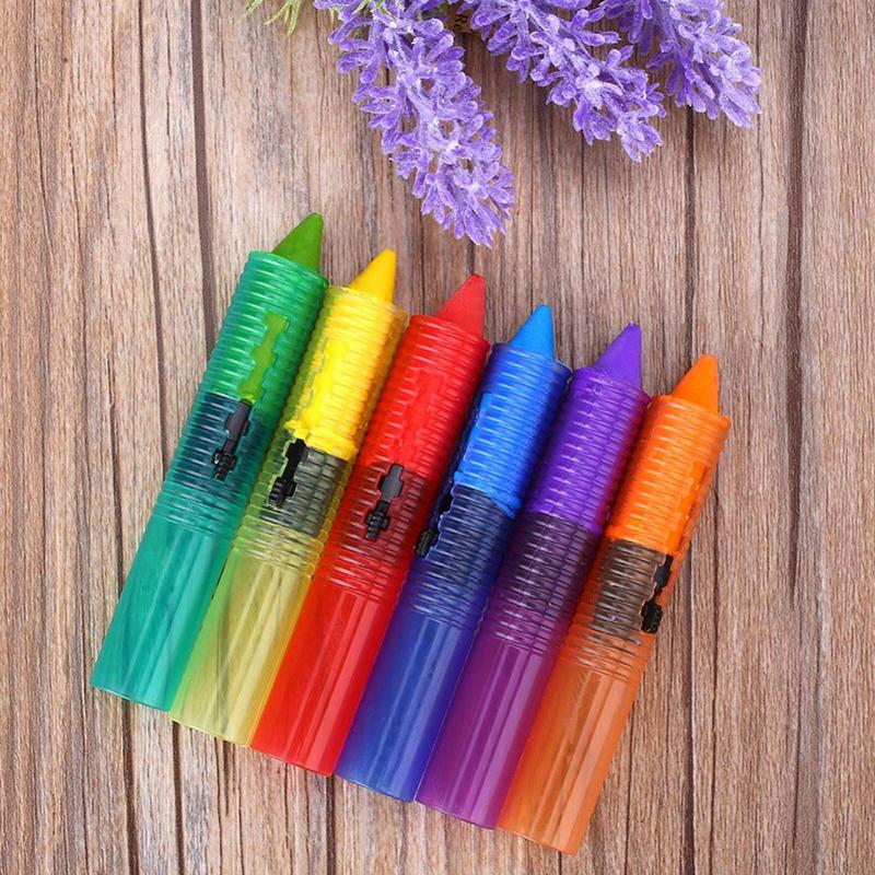 6pcs colors non toxic safe washable baby bathtub crayons fun kids educational. Black Bedroom Furniture Sets. Home Design Ideas