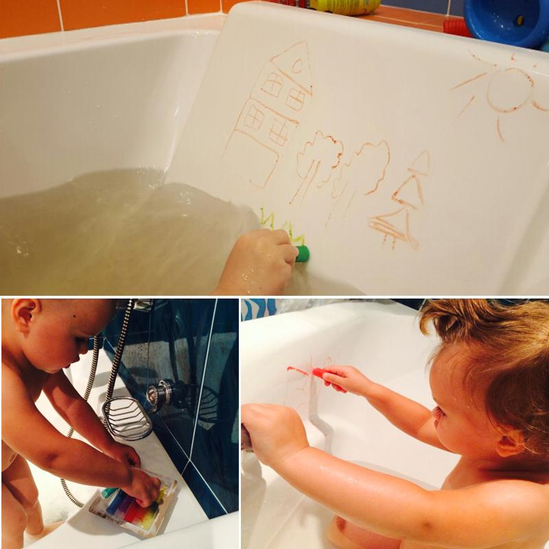 6pcs colors non toxic safe washable baby bathtub crayons. Black Bedroom Furniture Sets. Home Design Ideas