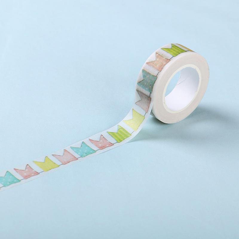 10pcs color flag washi tape diy decor scrapbooking masking tape adhesive tapes - Decoration masking tape ...