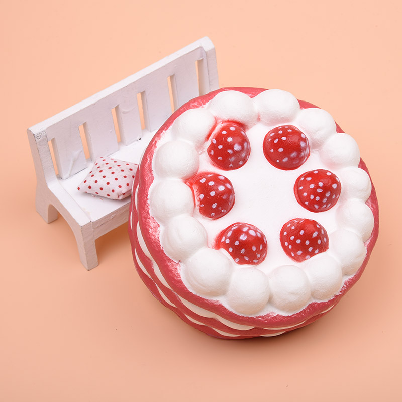 Squishy Toys Made In Usa : 10CM Jumbo Squishy Strawberry Cake Scented Super Slow Rising Kids Toy Cute