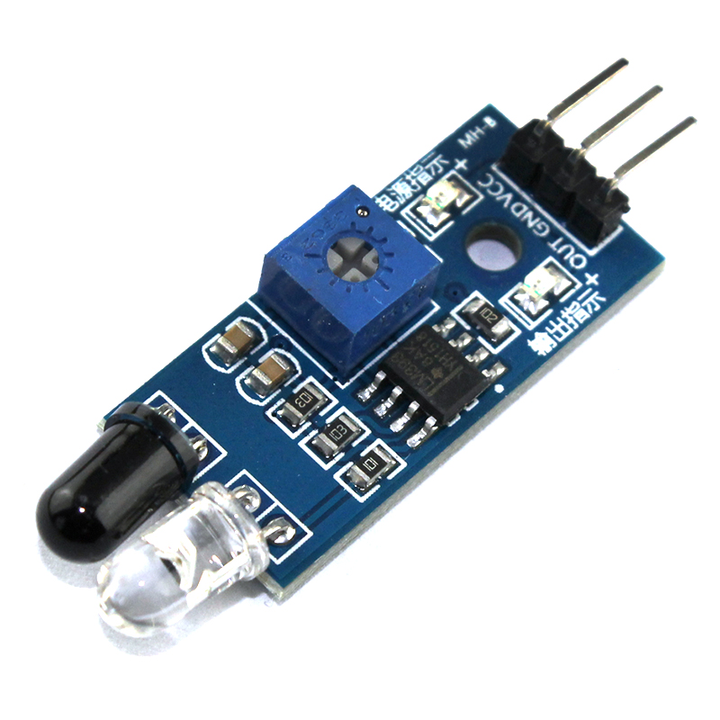 zB /_ Auto Sensor Umwandler IR Infrarot Hindernis vermeidung Modul für Smart R