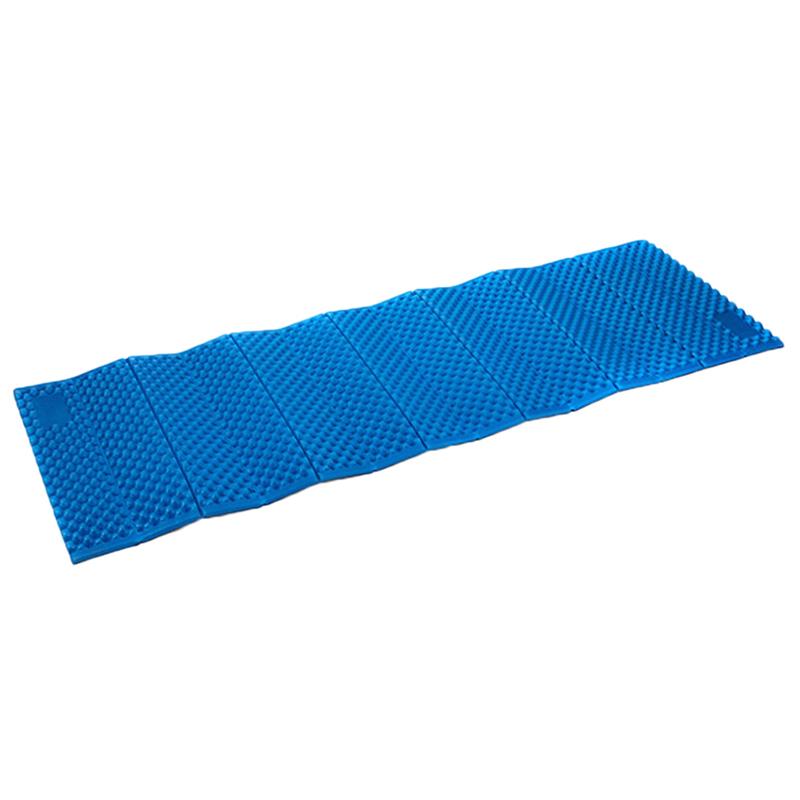 Foldable Blue Hiking Camping Dampproof Foam Mats Sleeping
