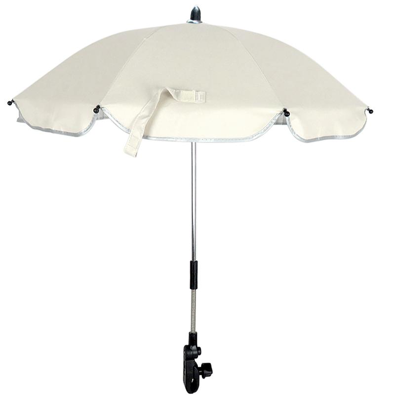 universal playshoes sonnenschirm f r buggy kinderwagen uv schutz clip erdspie ebay. Black Bedroom Furniture Sets. Home Design Ideas