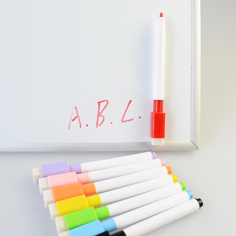8 farbe boardmarker magnetisch whiteboard marker abwischbar magnettafel schwamm ebay. Black Bedroom Furniture Sets. Home Design Ideas