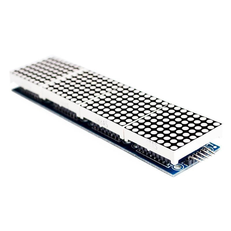 Max dot led matrix mcu control anzeigen modul