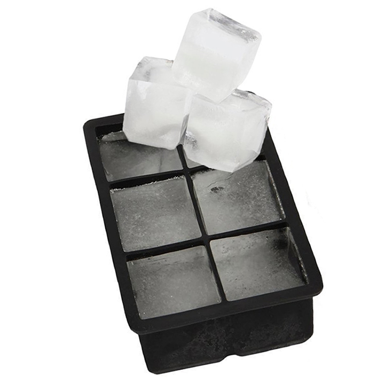 big chiller combo large square round ice cube mold silicone tray jumbo giant. Black Bedroom Furniture Sets. Home Design Ideas