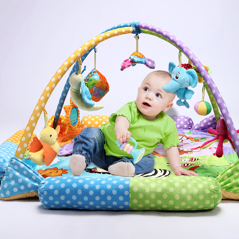 product gym mat mats floors baby and fold twist toy soft activity detail colorful floor play