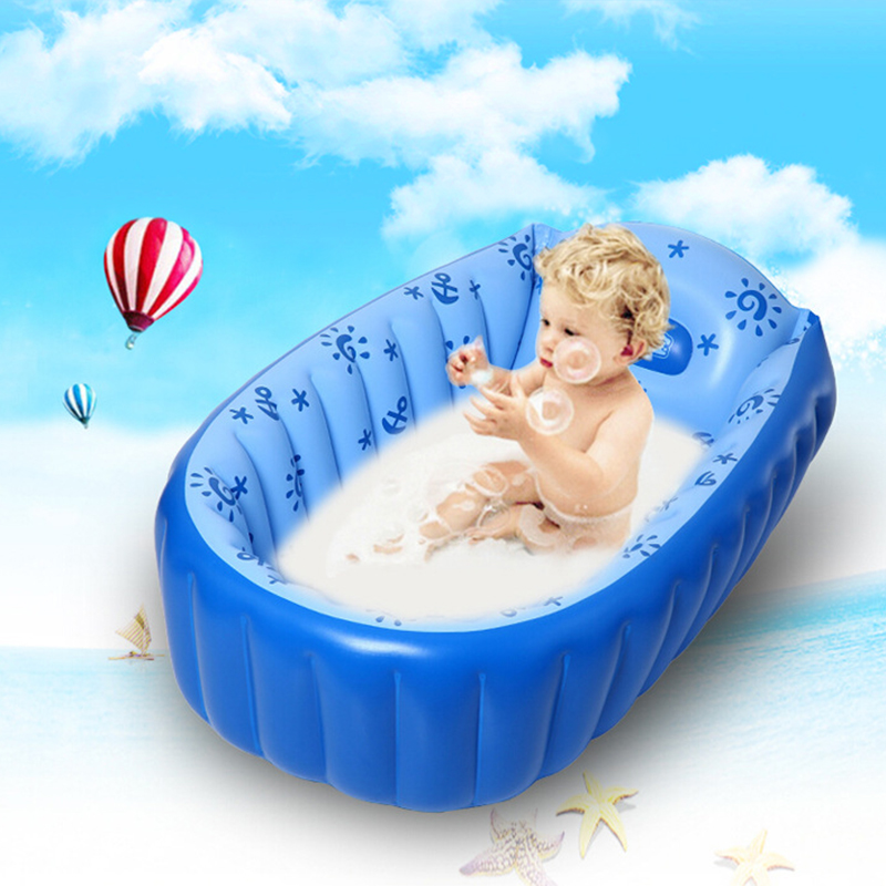 new baby kids toddler summer portable inflatable bathtub newborn thick bath tub. Black Bedroom Furniture Sets. Home Design Ideas