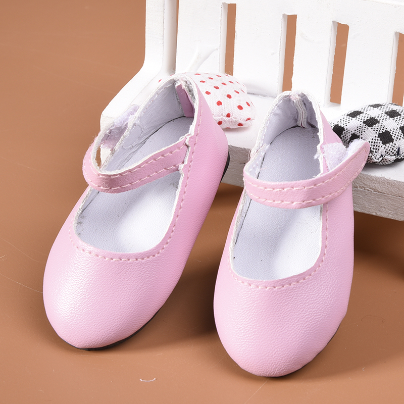 Fashion pink shoes for 18 inch doll toy party costume for Garden tools for 18 inch doll