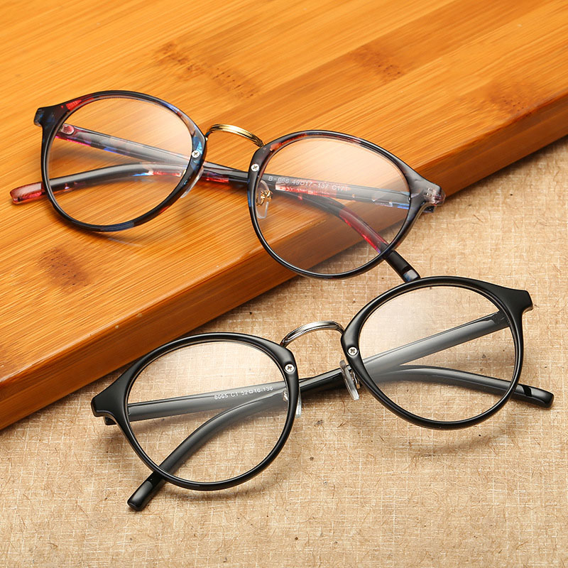 4794c8fe1f Details about Vintage Men Women Retro Round Eyeglasses Frame Glasses  Eyewear Clear Lens 2018