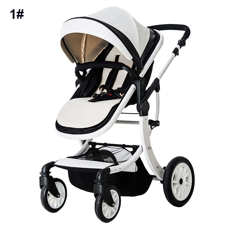 Luxury Baby Stroller Foldable Jogger Carriage Infant