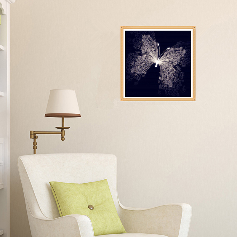2017 diamond cross stitch wall mural decor diamond for Cross stitch wall mural