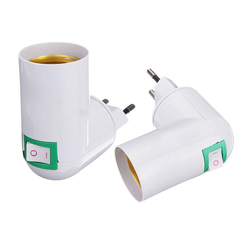 3 in 1 E27 Lampenfassung Konverter Adapter Lampensockel Splitter für LED
