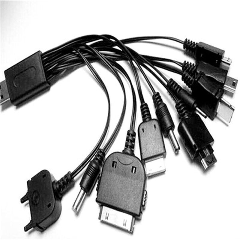 Dc 12v 24v Multi Function 10 In 1 B Universal Charger Cable For