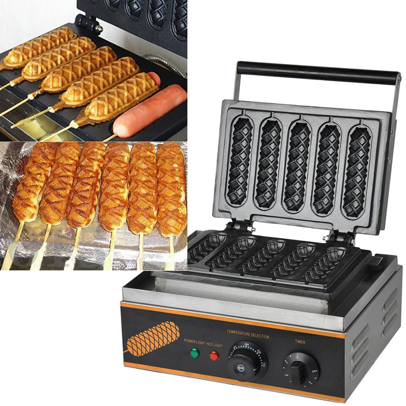 non stick electric muffin hot dog lolly waffle maker sausage baking machine oven ebay. Black Bedroom Furniture Sets. Home Design Ideas