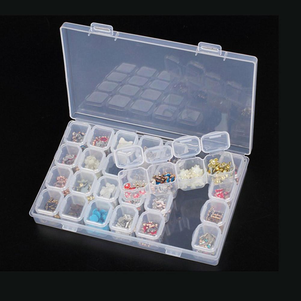 15//10//24 Slot Kunststoff Schmuck Organizer Kosmetik-Aufbewahrungsbox best