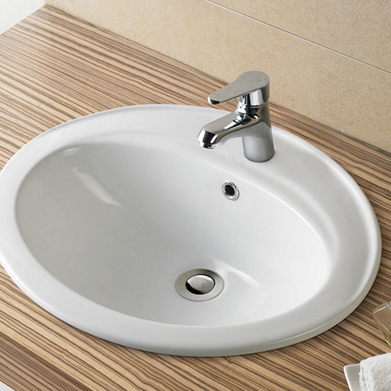 Brass Basin Overflow Spare Bathroom Sanitary Sink Round