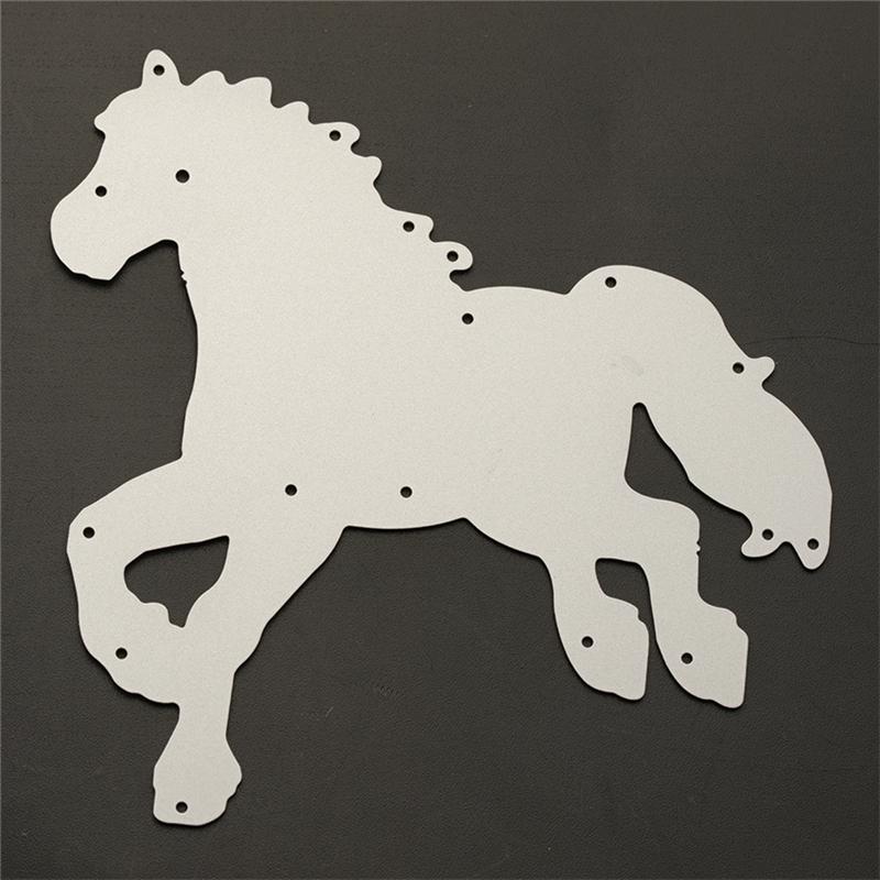 Pferd Stencil Dies Cutting  Scrapbooking Tagebuch Album Karte Stanzschablone.