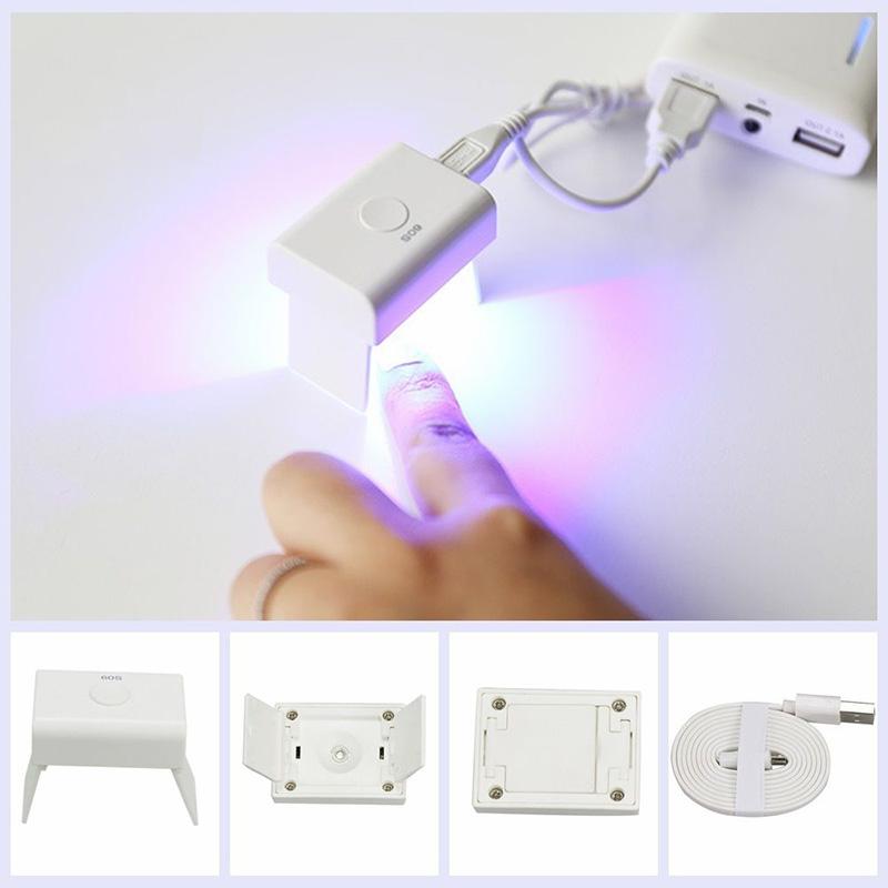 3w mini 5v uv led nagelgel lampe polnisch lichter for Lampe 5 kabel