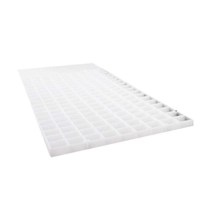 Aquarium White Black Isolation Plastic Mesh Plate Fish Tank Supplie
