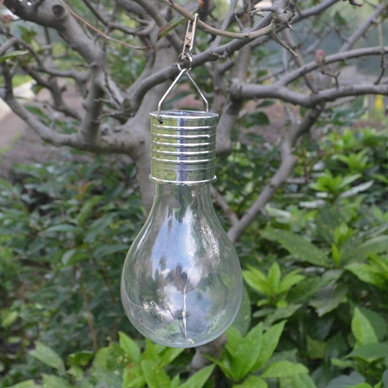 20 COB LED Solar Light USB wiederaufladbare hängende runde Glühbirne Outdoo E5B2