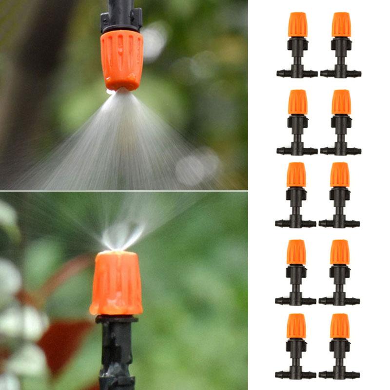 5pcs Bewässerung Micro-Drip Regulierbar Endtropfer Adjustable Tropfer DE HOT