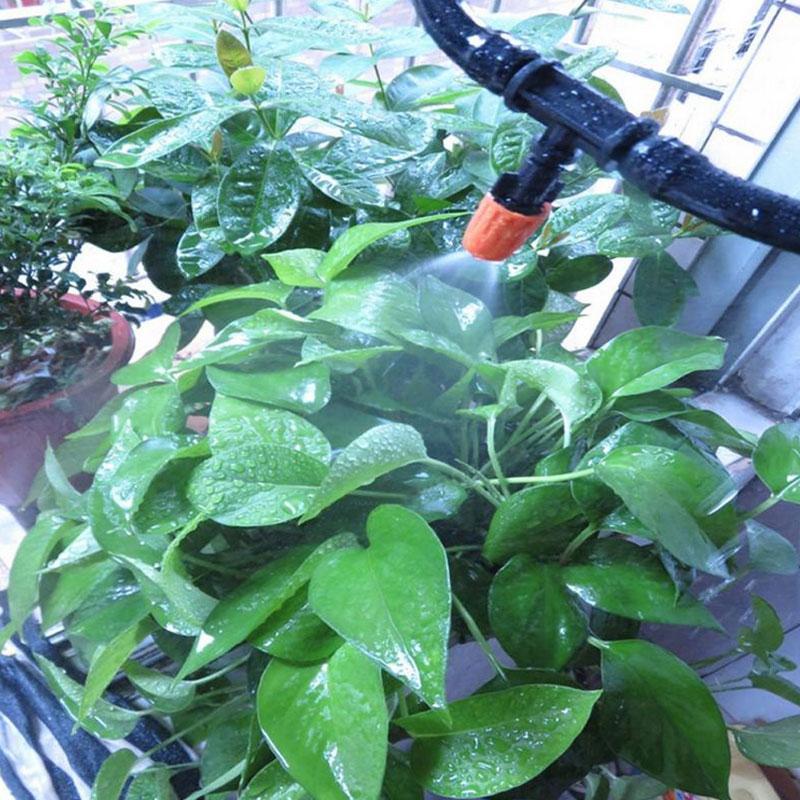 10pcs Micro-Drip Tropfer Regulierbar Endtropfer Garten Bewässerung Tropfer