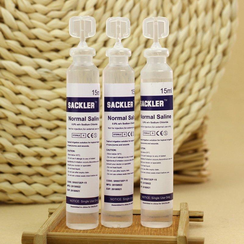 15ml Baby Sterile Saline Solution Nacl 0 9 Nebulizer Nose