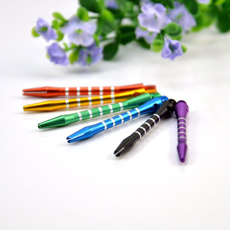 Aluminum Darts 2ba Shafts 6 Colors Medium Harrows Dart M7Q5 Throwing H8N7 H0D1