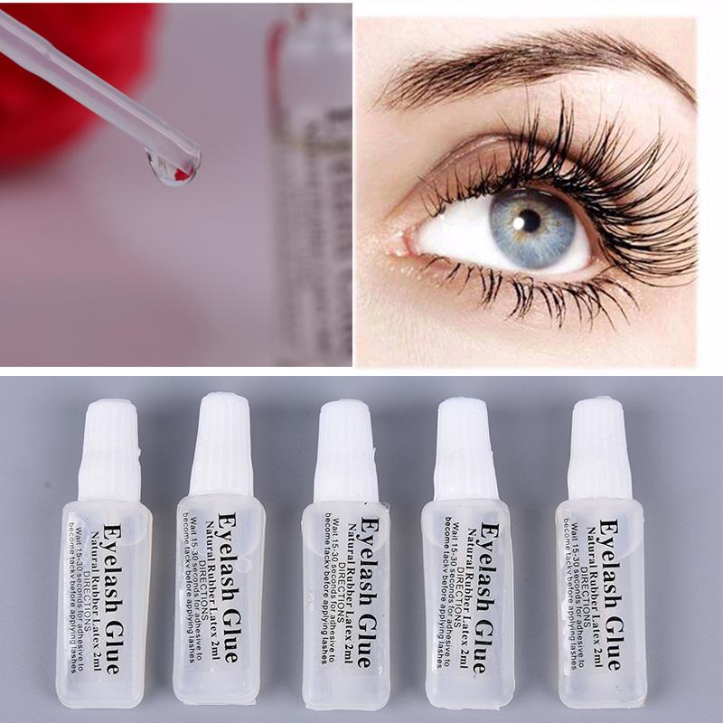 5pcs Beauty Pro False Eyelashes Glue Fake Eye Lash Adhesive Eye