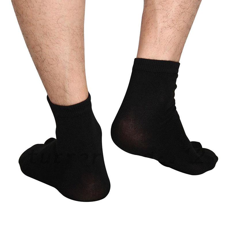 3Paar Unisex Japanese Kimono Flip Flop Sandal Split Toe Tabi Ninja Socken Socks