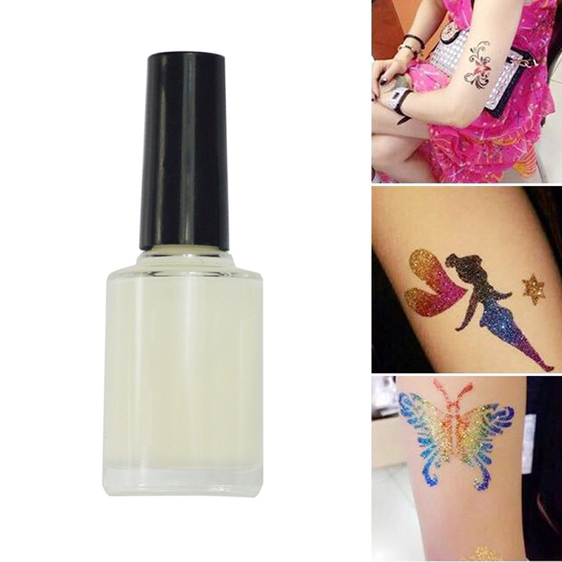 15ml Glitter Glue Temporary Glitter Tattoo Skin Body Art Make Up Fashi 1ksd Ebay