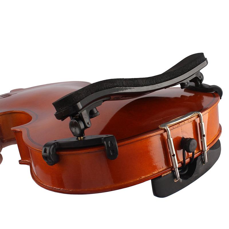 Professionelle 1//2 Violine Geigen Schulterstütze Geigenstütze Braun